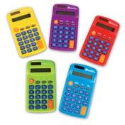 Rainbow Calculators (Set Of 10)