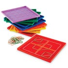 5 x 5 Pin Geoboards (Set of 10)