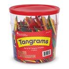Four-Colour Tangrams