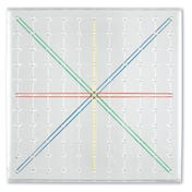 Transparent Geoboards