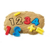 Numbers & Operations Sand Moulds