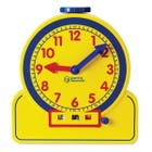LIMITED STOCK - Primary Time Teacher™ 12-Hour Analogue & Digital Demonstration Clock
