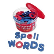 Soft Foam Magnetic Letters - Upper- & Lowercase