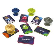 Space-Nonsense-Words Space Saucers and Cards game