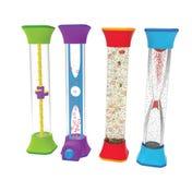 Four Sensory Fidget Tubes 92419