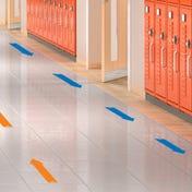 Social Distancing Floor Decals - Arrows