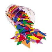 Six-Colour Tangrams