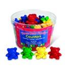 The Original Three Bear Family® Basic Four Colour Counter Set (Set of 80)