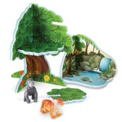 LIMITED STOCK - Jumbo Jungle Playset