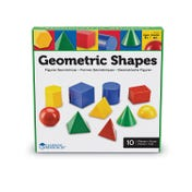 Large Plastic Geometric Shapes