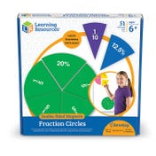 Double-Sided Magnetic Demonstration Rainbow Fraction® Circles