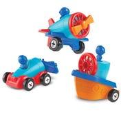 1-2-3 Build It!™ Car-Plane-Boat