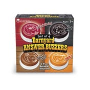 Farmyard Answer Buzzers (Set of 4)