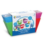 Magnetic Create-a-Space™ Storage Boxes (Set of 4)