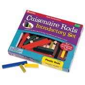 Plastic Cuisenaire® Rods Introductory Set (in a tray)