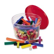 Plastic Cuisenaire® Rods Small Group Set (in a tub)
