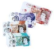 UK Play Money - Notes (Set of 50)