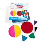 Rainbow Fraction® Circles Demonstration Clings
